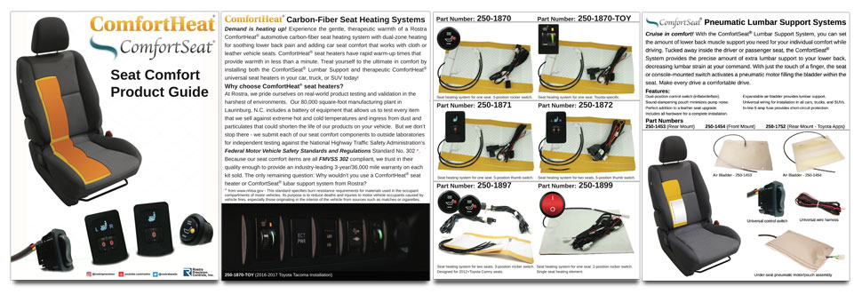 Car Truck And Suv Automotive Carbon Fiber Seat Heaters By